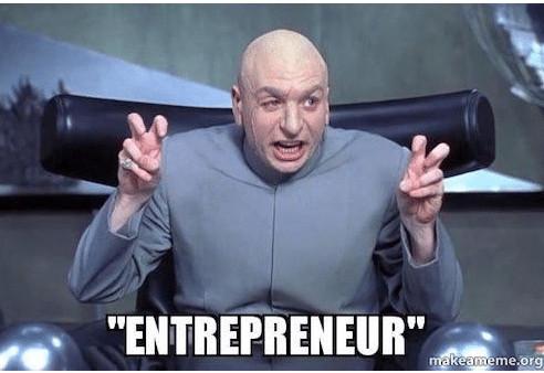 Entrepreneur libre meme