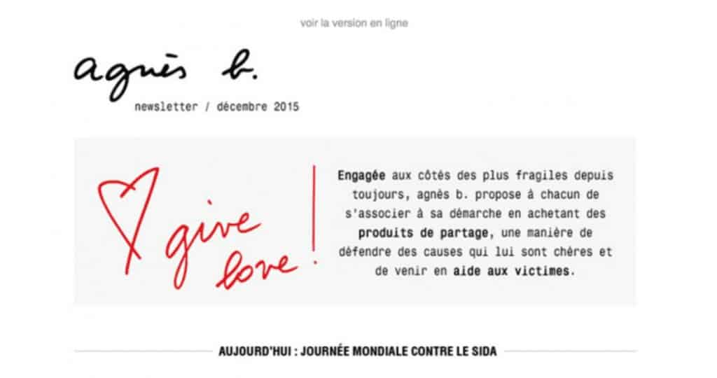 Exemple newsletter