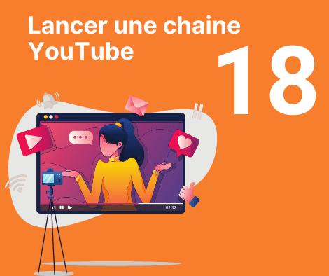 Lancer une chaine YouTube