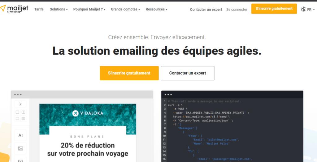 Mail logiciel application de newsletter