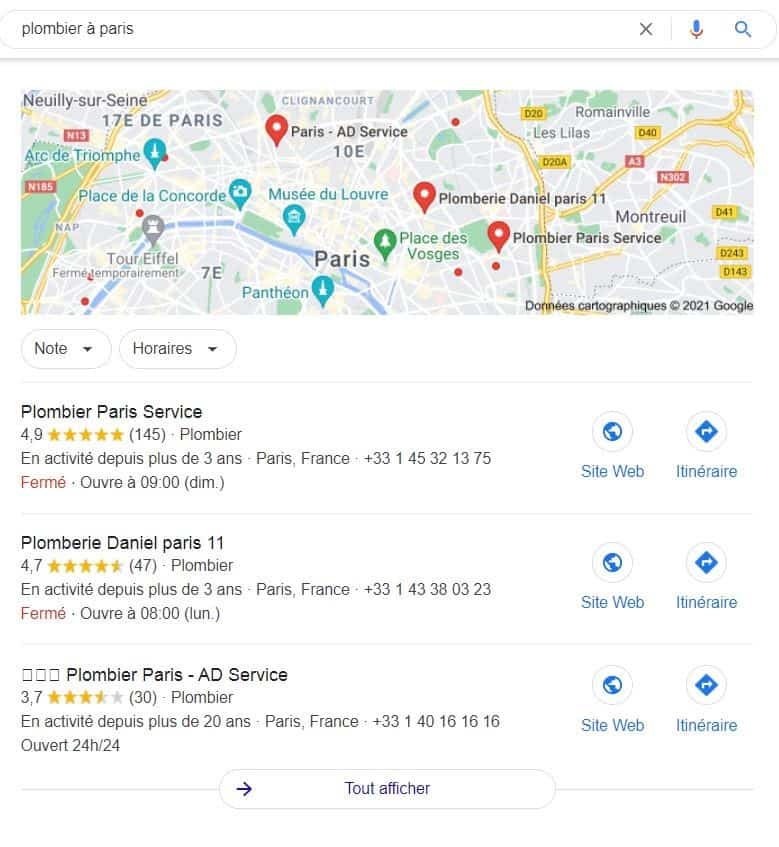 GoogleMybusiness exemple