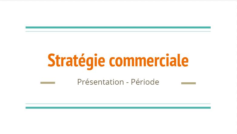Stratégie commerciale modèle powerpoint